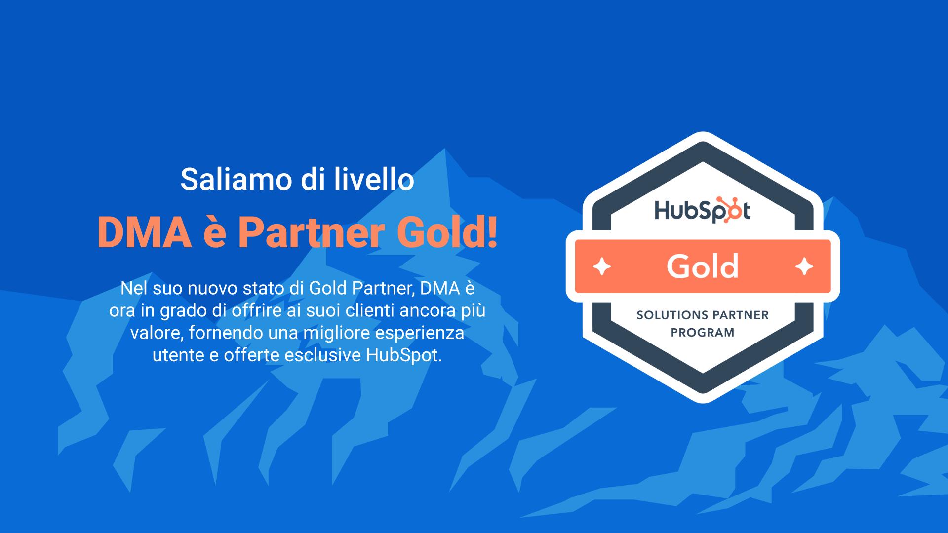 HubSpot Partner Gold DMA